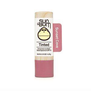SUNBUM Tinted Sunscreen Lip Balm in Sunset Cove